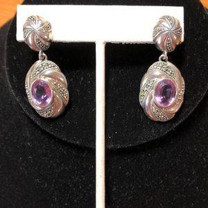 Judith Jack Dangling Earrings